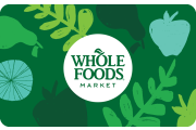 Top up Whole Foods with Bitcoin